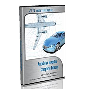 AutoDesk Inventor Video Tutorial DVD - The Complete Inventor Library