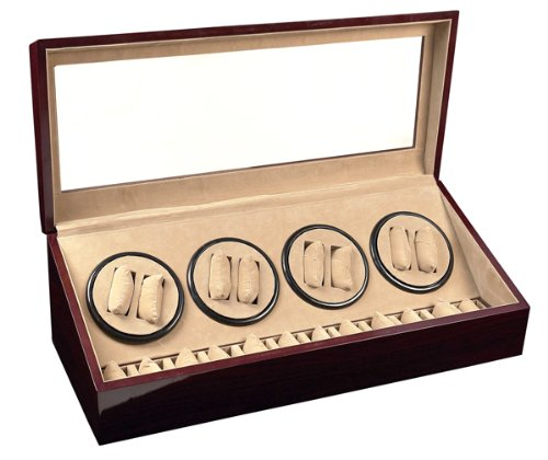 8-12-red-wood-automatic-dual-quad-watch-winder-twelve-display-storage-box