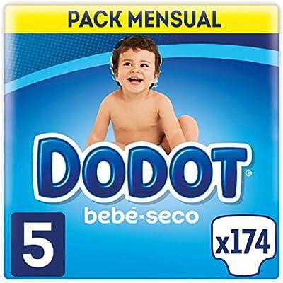 Dodot Bebé-Seco - Pañales, con canales de aire, 11-16 kg, Talla 5 ...