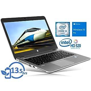 """HP EliteBook 840 G3 Laptop, 14"""" FHD Display, Intel Core i5-6300U Upto 3.0GHz, 16GB RAM, 256GB SSD, VGA, DisplayPort, Card Reader, Wi-Fi, Bluetooth, Windows 10 Pro"""