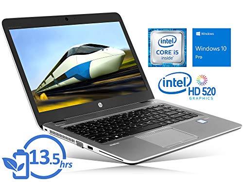 HP EliteBook 840 G3 (8DZ57UT) Laptop, 14″ FHD Display, Intel Core i5-6300U Upto 3.0GHz, 8GB RAM, 256GB SSD, VGA, DisplayPort, Card Reader, Wi-Fi, Bluetooth, Windows 10 Pro