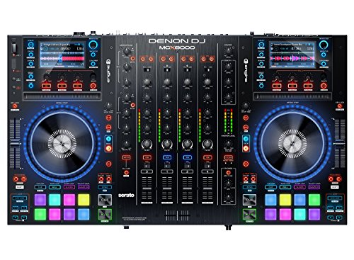 Denon Digital Turntable (Denon DJ MCX8000 | Standalone DJ Player and Serato 4-Channel DJ Controller)