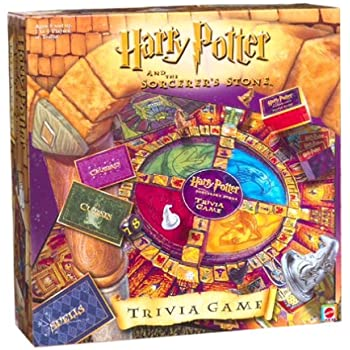 Harry Potter Sorcerers Stone Trivia Game by Mattel