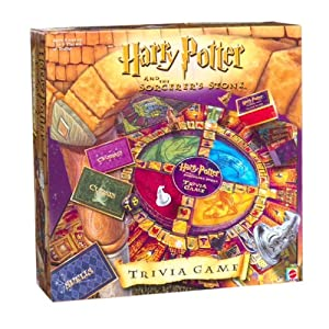 Harry Potter Sorcerers Stone Trivia Game - 515F6ZFJ2HL - Harry Potter Sorcerers Stone Trivia Game by Mattel