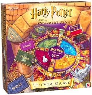 Harry Potter Sorcerers Stone Trivia Game by Mattel: Amazon.es: Juguetes y juegos