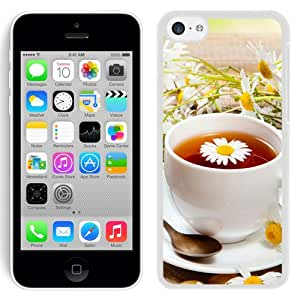 Tea Saucer Drink Spoon Mug (2) Durable High Quality iPhone 5C Phone Case
