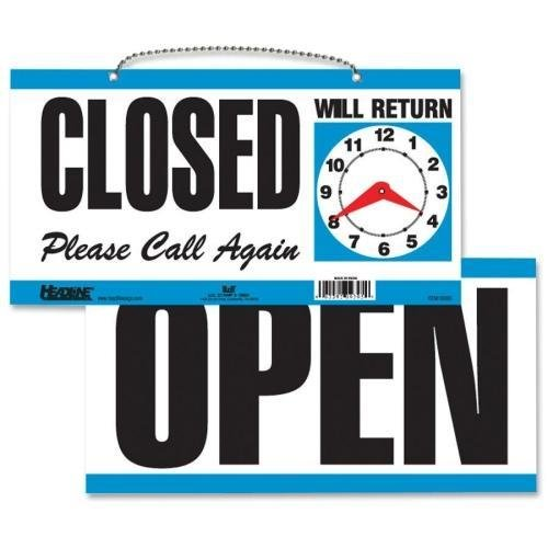 9395 U.S. Stamp & Sign Open/Closed Sign -