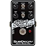 Subdecay Super Spring Theory Reverb Pedal Sub Decay w/ 4 Cables