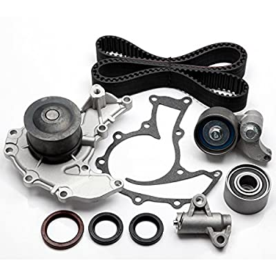 ANPART Timing Belt Kit Fit For 1998-2004 Isuzu Rodeo 2001-2002 Isuzu Rodeo Sport 1998-2002 Isuzu Trooper 1999-2001 Isuzu VehiCROSS Timing Belt Water Pump Tensioner Gasket Set: Automotive