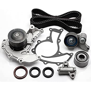 ECCPP TBK303 Fits 98-04 Honda Isuzu 3.2 3.5 6VD1 6VE1 Timing Belt Kit Water Pump