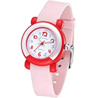 Kids Analog Watches Child Quartz Wrist Watch Waterproof Learning Time Wristwatches for Toddler Boys Girls