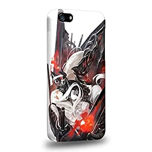 Case88 Premium Designs Kantai Collection Kancolle Symbiotic Hime Soukou Kuubo Hime Armored Carrier Princess 1000 Carcasa/Funda dura para el Apple iPhone 5C