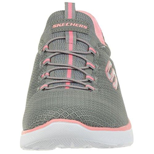 Skechers Summits Grey/Pink 10