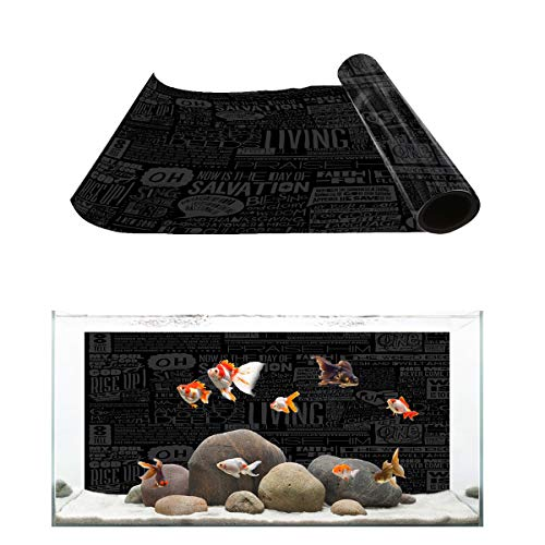 Fantasy Star Aquarium Background Black Poster Music Album