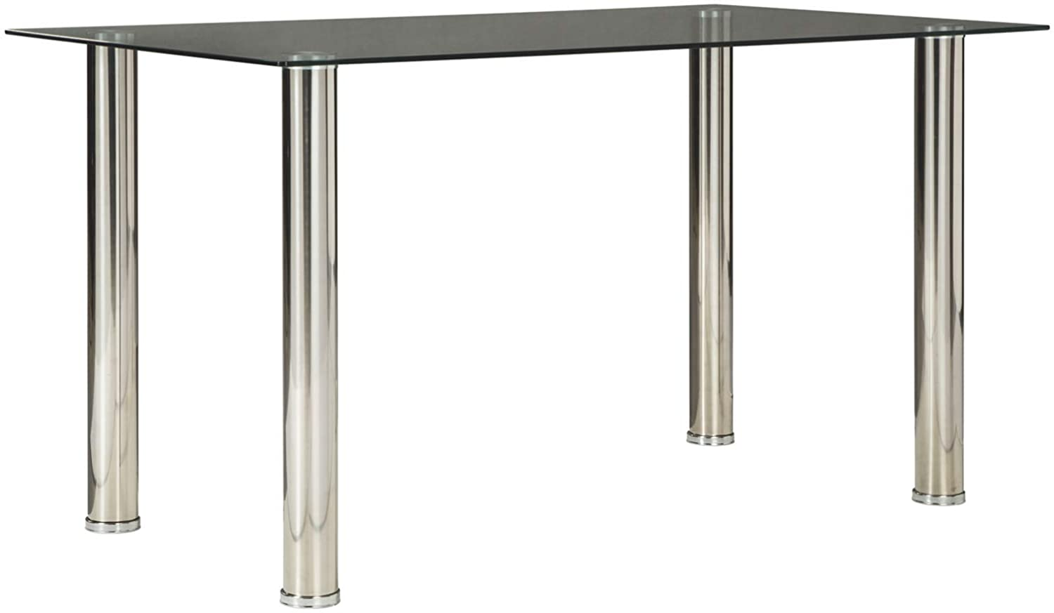Signature Design by Ashley D170-125 Sariden Table, Rectangular, Black/White