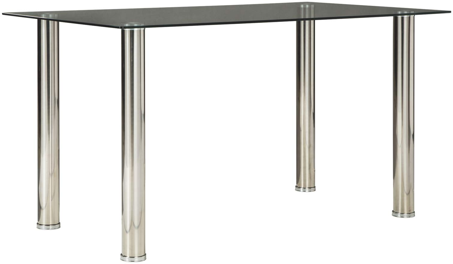 Signature Design by Ashley D170-125 Sariden Table, Rectangular, Black/White by Signature Design by Ashley