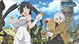 Official Is It Wrong to Pick Up Girls in a Dungeon? (DanMachi) ''Bell & Hestia'' Playmat