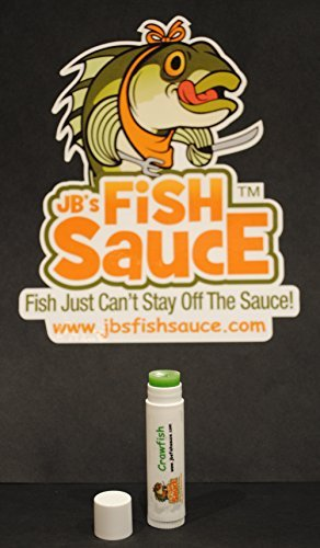 Panfish Classic Fish (JB's Fish Sauce Fish Attractant - FishStick .15oz Lip Balm Style FishStick - Crawfish - CATCH MORE FISH! - Works On All Species)