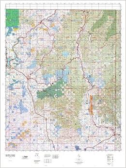 WA GMU 113 Selkirk Hunt Area / Game Management Units (GMU) Map ...