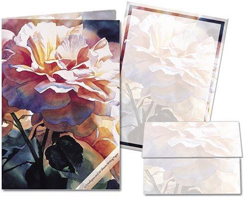 UPC 798925012566, Afternoon Rose - Stationery Gift Set (20 sheets and 12 envelopes)