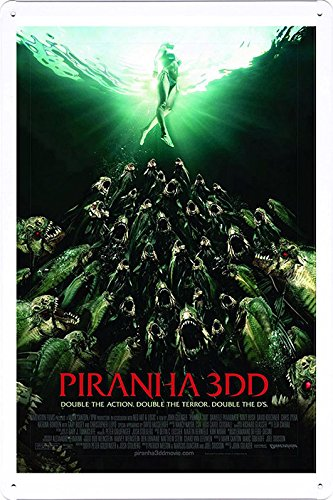 Movie Film Metal Poster Home Theater Decor Tin Sign Plate Wall Art 8