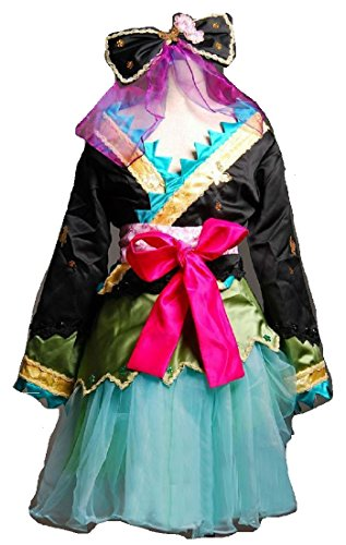 Vocaloid Hatsune Miku Project Diva 2nd Luka Cosplay