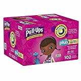 Health & Personal Care : Learning Designs Pull-Ups for Girls (Size 4T-5T: 102ct, 38-50lbs)