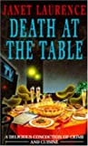 Front cover for the book Death At The Table by Janet Laurence