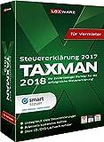 Lexware TAXMAN 2018 Minibox für Vermieter, Übersichtliche Steuererklärungssoftware für Vermieter, Kompatibel mit Windows 7 oder aktueller