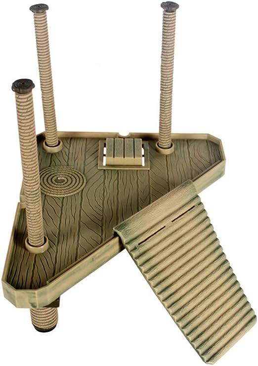 WYBFBYD Plataforma Flotante Decorativa para el Muelle de la Tortuga con Escalera de rampa para Tortugas anfibias: Amazon.es: Productos para mascotas