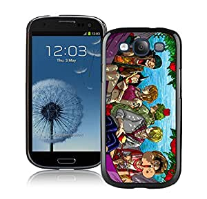 Fashion Designed One Piece 6 Black Samsung Galaxy S3 Phone Case