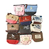 Retro Money Bag Small Cute Coin Purse(A set of 11 packages)