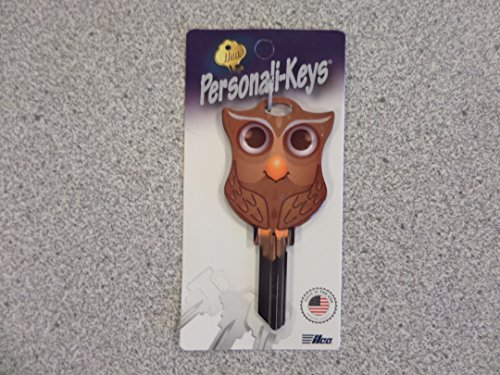 Ilco Owl Shape Personali-Key Kwikset KW Key Blank - Kw10 Key Blank