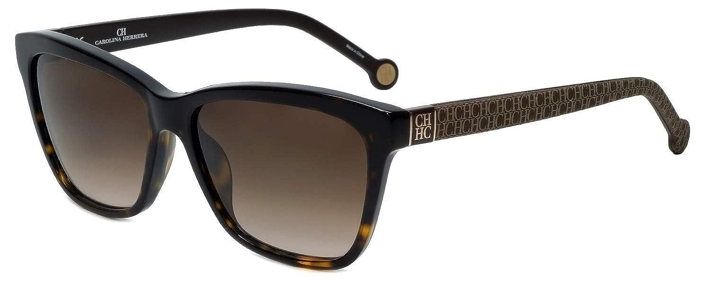 53 para Mujer Negro Carolina Herrera SHE646530700 Gafas de Sol
