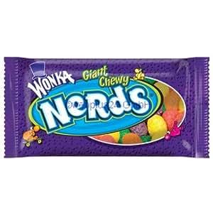 Wonka Giant Chewy Nerds (24x51g)