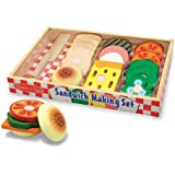 Melissa & Doug Wooden Sandwich-Making Set