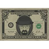 Poster Breaking Bad - Heisenberg Dollar - affiche à prix abordable, poster XXL