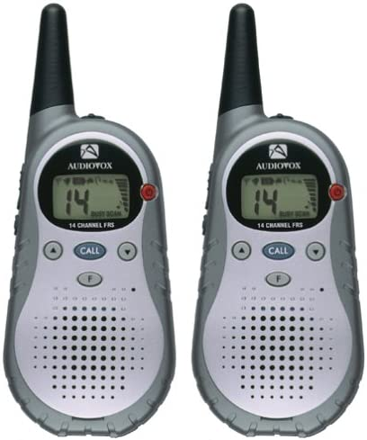Audiovox FR1420-2 2-Mile 14-Channel FRS Two-Way Radio Pair