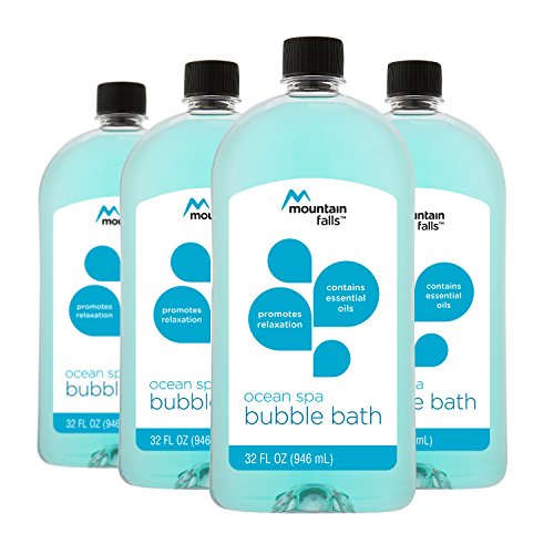 Ocean Breeze Spa (Mountain Falls Ocean Spa Bubble Bath, 32 Ounce (Pack of 4))
