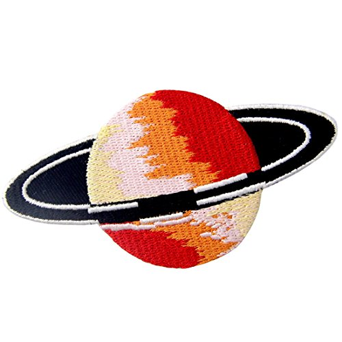 Mars Planet Space Explorer Patch Embroidered Applique Iron On Sew On Emblem