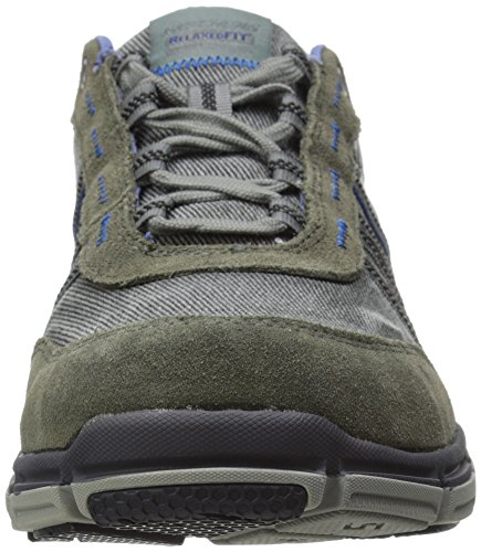 Skechers Broger-Kenster Hommes US 10 Gris Baskets EU 43