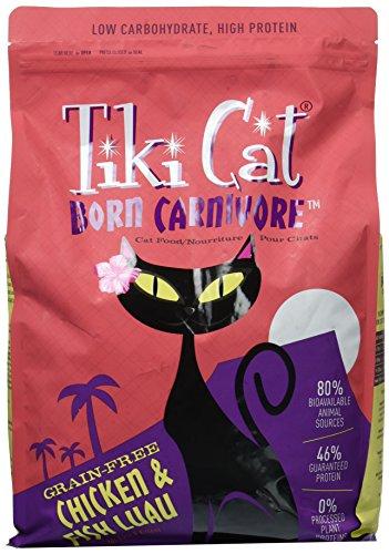 Tiki Cat Born Carnivore Chicken & Fish Luau 5.6lb