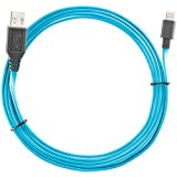 Ventev chargesync Apple Lightning Cable, 6ft Blue