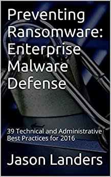 Preventing Ransomware Enterprise Technical Administrative ebook product image
