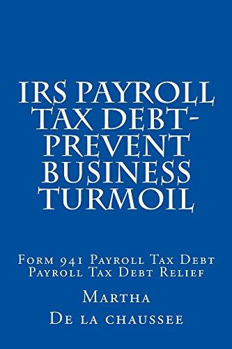 Amazon Irs Payroll Tax Debt Prevent Business Turmoil Form 941