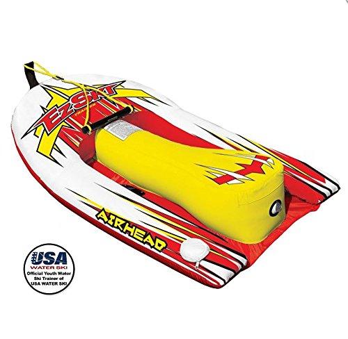 Airhead Big EZ Ski Inflatable Water Skiing Training Towable Tube w/60′ Tow Rope – DiZiSports Store