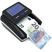 Gloriashoponline Detector de billetes detecta dinero y cuenta billetes falsos con USB