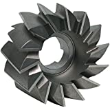 4.5 Diameter High Speed Steel F/&D Tool Company 11156-A7472 Staggered Tooth Side Milling Cutter 1 Hole Size 1 Width of Face