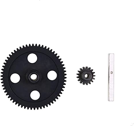 RC Car Motor Gear Metal Motor Gear for WLtoys 12428 12423 RC Car Upgrade Parts RC Accessory