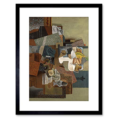 Picasso Still Life Compote Small Framed Wall Art Print